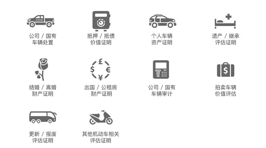 公司车辆处置评估|国有资产处置评估|车辆审计|车辆抵押评估|车辆抵账评估|汽车价值评估|报废评估|车辆继承评估|车辆拍卖评估